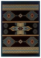 Contours/cem Native Canvas Sblue Rugs Product Image