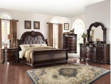 Norman King Size Bed