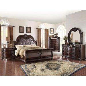 Norman Queen Size Bed