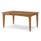 Everyday Dining by Rachael Ray Gathering Rect to Square Leg Table - Nutmeg Product Image