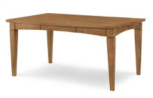 Everyday Dining by Rachael Ray Gathering Rect to Square Leg Table - Nutmeg