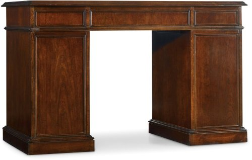 Cherry Knee-Hole Desk-Bow Front