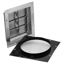 "10"" Wall Cap for Range Hoods and Bath Ventilation Fans"