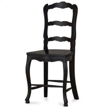 Provincial Counter Stool w/ Wooden Seat