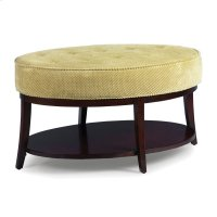 Stonewood Oval Cocktail Ottoman Product Image
