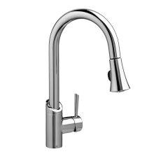 Fresno Pull-Down Kitchen Faucet - Polished Chrome