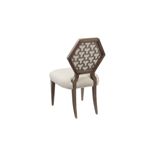 Geode Gem Druzy Side Dining Chair