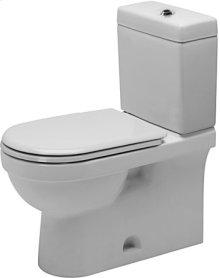 White Happy D.2 Two-piece Toilet