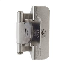 Self-closing, Double Demountable 1/4 In (6 Mm) Overlay Hinge