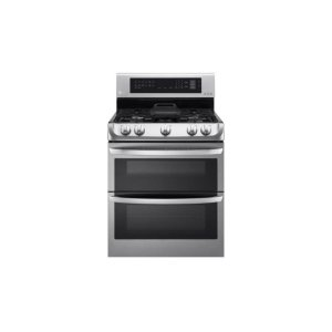 LG Appliances6.9 cu. ft. Gas Double Oven Range with ProBake Convection®, EasyClean® and Gliding Rack