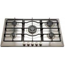 "36"" (90cm) 5 burner gas cooktop"