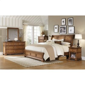 King/Cal King Sleigh Bed HB