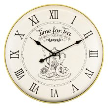 Time for Tea Wall Clock