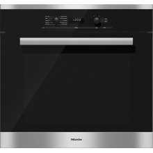 H 6281 BP 30 Inch Convection Oven with Self Clean for easy cleaning.