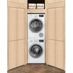 Bosch 500 Series Cond. Dryer - 208/240v, Cap. 4.0 Cu.Ft., 15 Cyc.,65 Dba, Ss Drum, Silv. Rev./Door; Energy Star