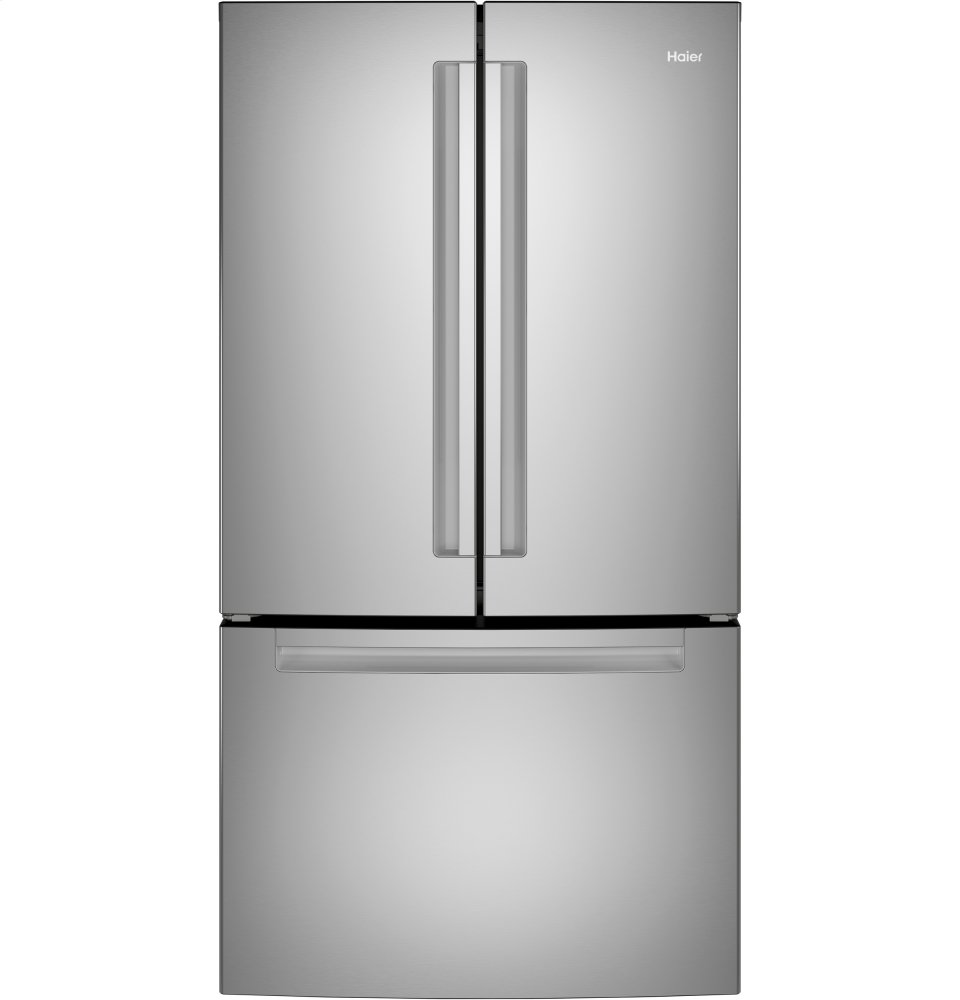 HaierEnergy Star® 27.0 Cu. Ft. French-Door Refrigerator