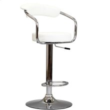Diner Bar Stool in White