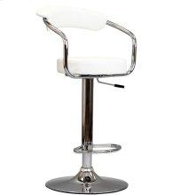 Diner Bar Stool in White
