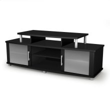 TV Stand for TVs up to 50'' - Pure Black
