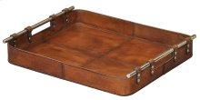 Safari Leather Tray