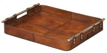 Safari Leather Tray