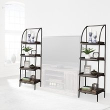 Gatehouse Pair of Etagere Bookcase Piers