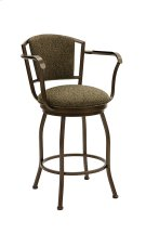 Boise B517H26AS Swivel Back and Arms Bar Stool Product Image
