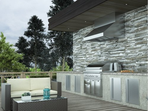 "36"" Cypress Wall Outdoor"