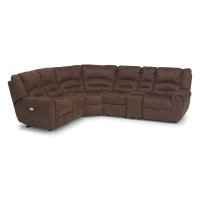 New Town Fabric Power Reclining Sectional Product Image