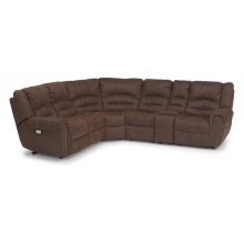 New Town Fabric Power Reclining Sectional