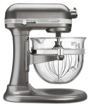 Professional 6500 Design Series 6 Quart Bowl-Lift Stand Mixer - Medallion Silver Product Image