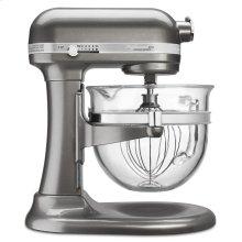 Professional 6500 Design Series 6 Quart Bowl-Lift Stand Mixer - Medallion Silver