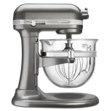 Professional 6500 Design Series 6 Quart Bowl-Lift Stand Mixer - Medallion Silver
