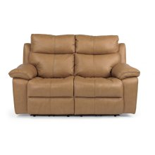 Julio Leather Power Reclining Loveseat