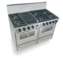 """48"""" All Gas, Convection, Sealed Burners, Stainless Steel"""