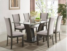 Camelia Dining Table Glass Top