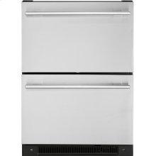 5.4 Cu. Ft. Built-In Dual-Drawer Refrigerator