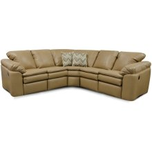 Leather Lackawanna Sectional 7300L-Sect