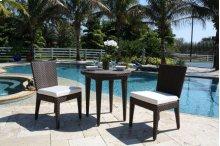 Atlantis 3 PC Sidechair Dining Bistro Group