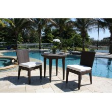 Atlantis 3 PC Sidechair Dining Bistro Group