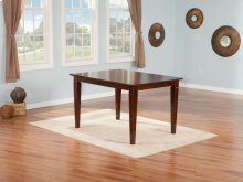Montego Bay Dining Table 36x48 in Walnut
