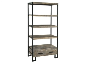 Office@Home Double Drawer Open Shelving Unit Product Image