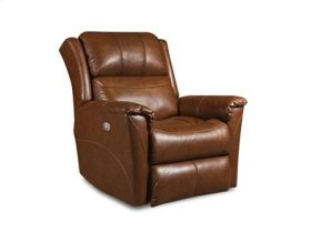 Leather Wall Hugger Recliner with Power Headrest