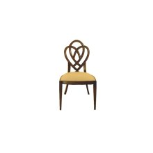 Heart & Diamond Side Chair