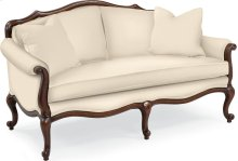 Devereux Settee with Double Welt Trim