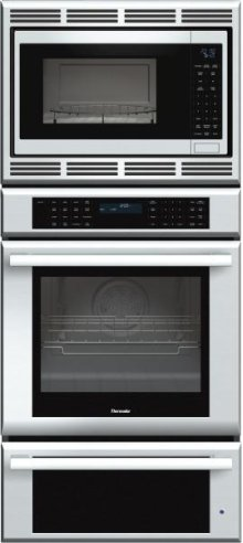 Masterpiece Series 27 inch Combination Wall Oven MEMCW271ES - Stainless Steel