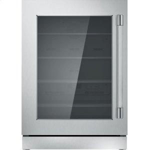 THERMADOR24 inch UNDER-COUNTER GLASS DOOR REFRIGERATION T24UR920LS