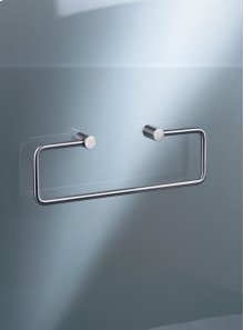 Towel holder without back plate - Grey