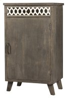 Artesa Low Wine Bar Cabinet - Bone Drawer Fronts - Distressed Brown Gray Product Image