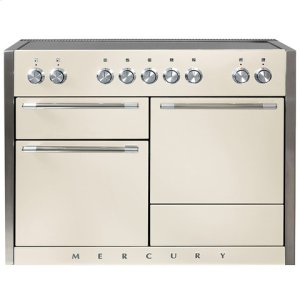AGAAGA Mercury 48 Induction Ivory with Chrome trim